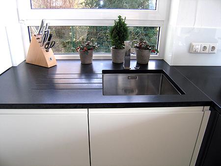 steinwelten marcomueller k chenarbeitsplatten. Black Bedroom Furniture Sets. Home Design Ideas